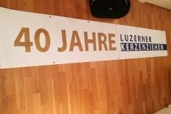 Banner 40 Jahre
